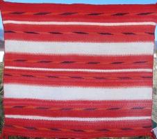 Single Saddle Blanket 1930's